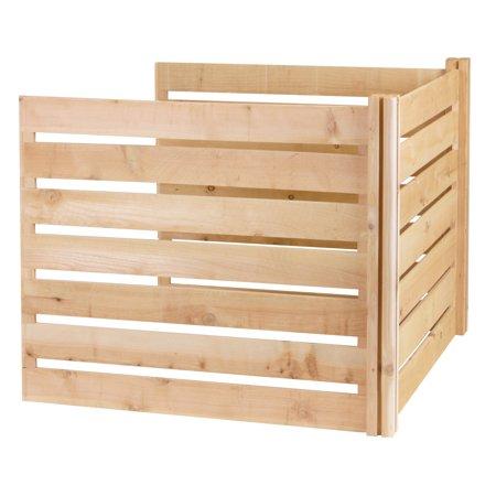Greenes 41 Cubic Feet Cedar Wood Composter Add On Kit
