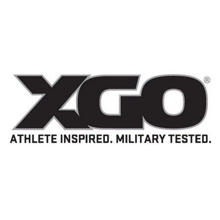 XGO 4P11HQ-XL-60 Men's Black Phase 4 Performance Hoodie - Size X-Large
