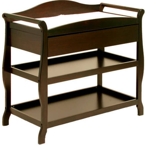 Storkcraft Aspen Changing Table With Drawer Cherry   Walmart.com