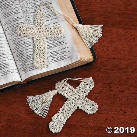 Crocheted Cross Bookmarks (Crochet Bookmarks)