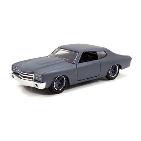 Dom's Chevrolet Chevelle SS Primer Grey 'Fast & Furious' Movie 1/32 by Jada 97379 72 Chevrolet Chevelle Quarter