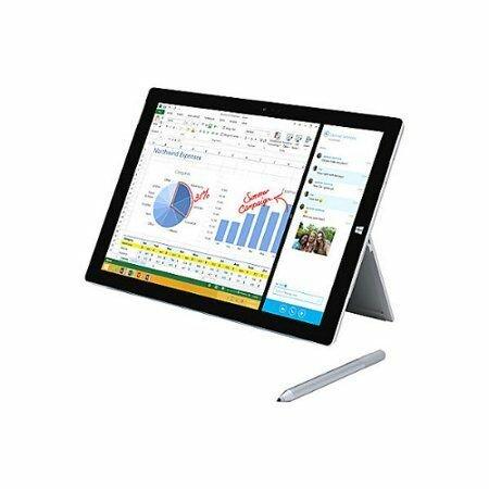 Microsoft Surface Pro 3 Intel Core i5 Processor 4GB RAM 128GB SSD -