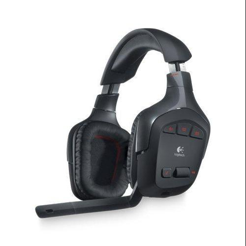 Logitech Wireless Gaming Headset G930 with 7.1 Surround Sound