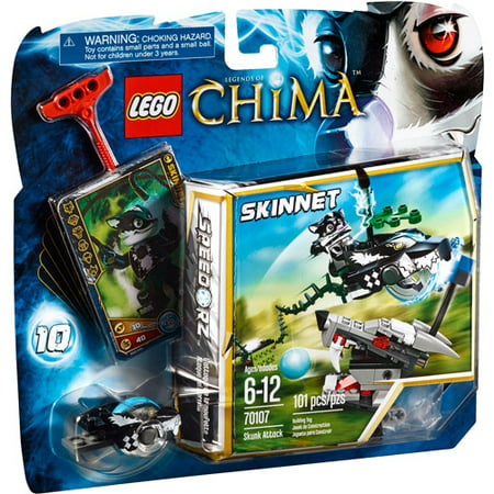 Lego Chima Skunk Attack Play Set