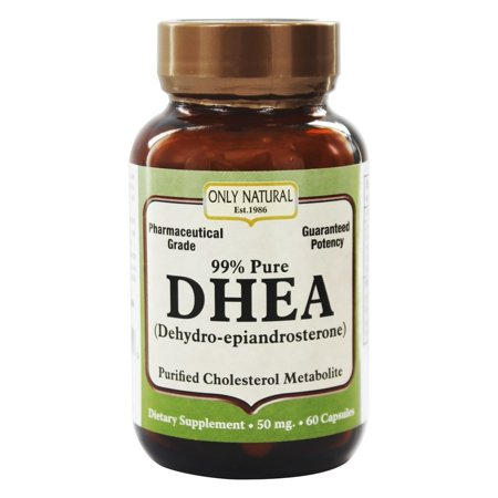 ONLY NATURAL - DHEA 99% 50 mg. - 60 Capsules