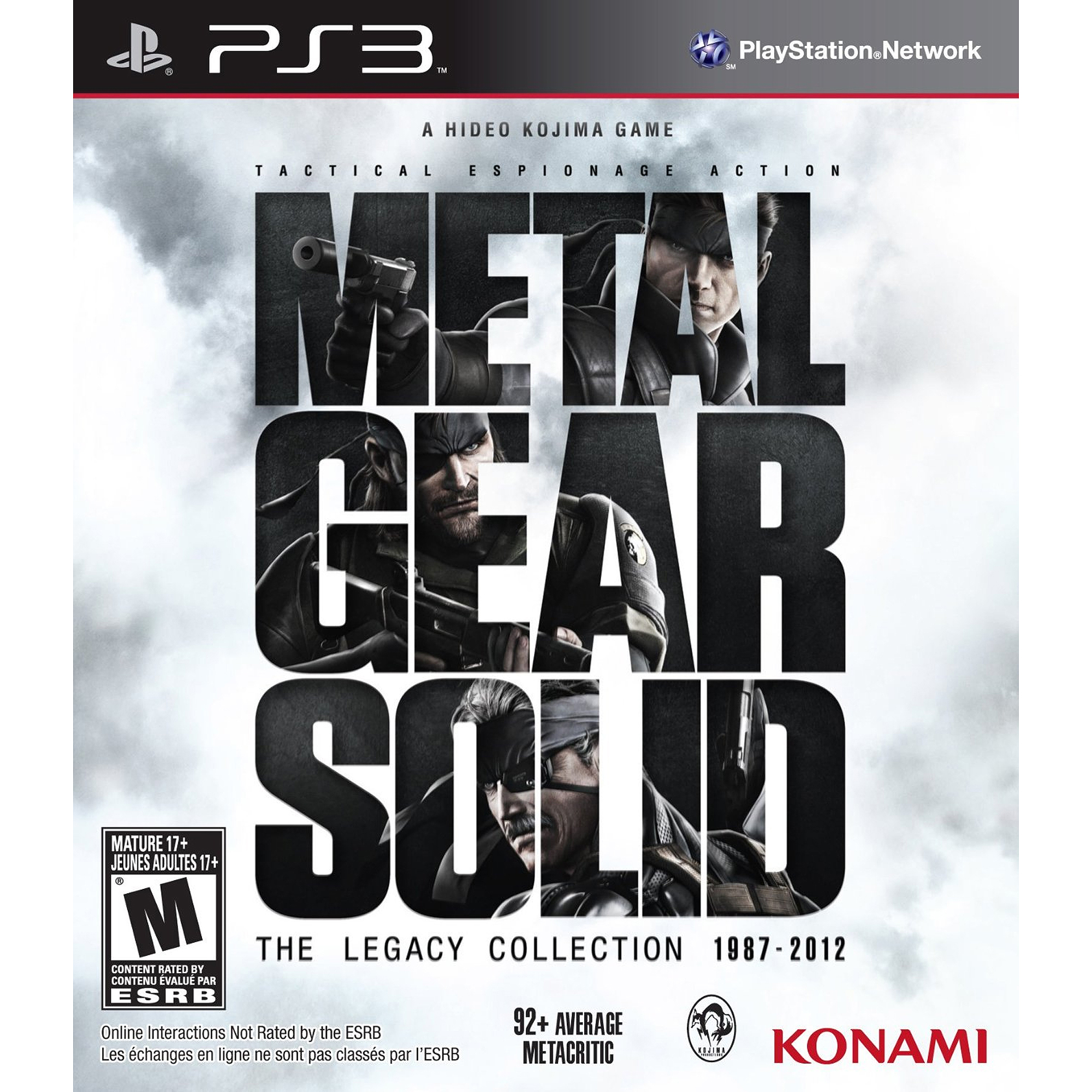 Metal Gear Solid Legacy (PS3)