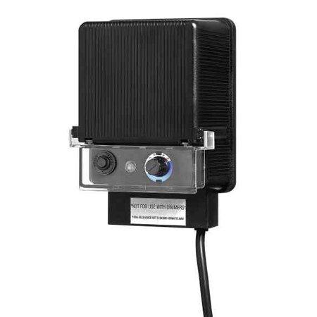 Hinkley Lighting 0150BK 150 Watt 12 V Landscape Lighting Transformer with Timer and Photocell
