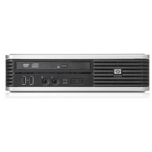 Refurbished HP 7800 Desktop PC with Intel Core 2 Duo Processor, 4GB Memory, 160GB Hard Drive and Windows 10 Home (Monitor Not Included)
