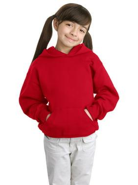 Hanes Girls Pullover Hooded Sweatshirt - P470