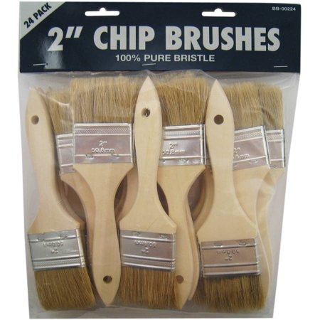 "Gam BB00224 2"" Chip Paint Brushes 24 Count"