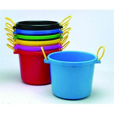 Fortex Industries Inc D-Multipurpose Muck Bucket- Green 70 - Blue Half Bucket