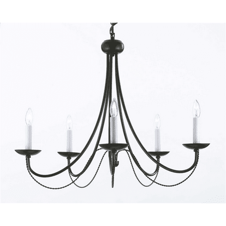 Wrought Iron Chandelier Chandeliers Lighting H22
