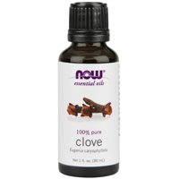 Now, 100% Pure Clove Essential Oil, Aromatherapy, 1oz