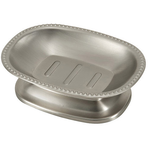 Better Homes and Gardens Metal Decorative Accessories - Soap Dish