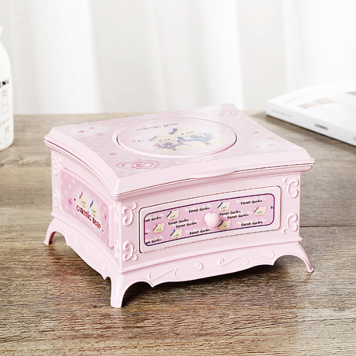 Moaere Childhood Memories Ballerina Musical Jewelry Box Birthday Gift