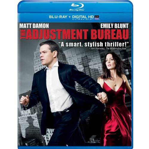 The Adjustment Bureau (Blu-ray + Digital HD) (With INSTAWATCH) (Widescreen)