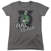 Green Lantern Hal Yeah Womens Short Sleeve Shirt