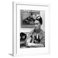 Mexican Painter Frida Kahlo (1907-1954) 1948 Framed Print Wall Art