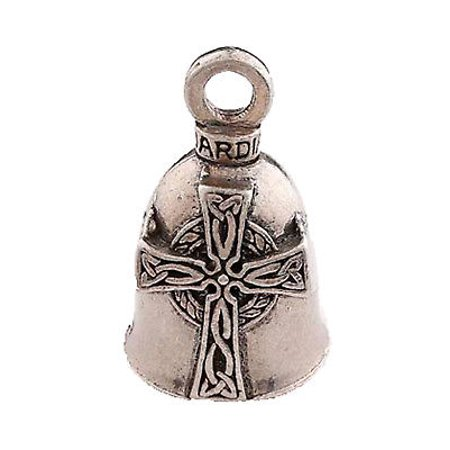 Celtic Cross Guardian® Bell Motorcycle Harley Accessory Gremlin Spirit Charm
