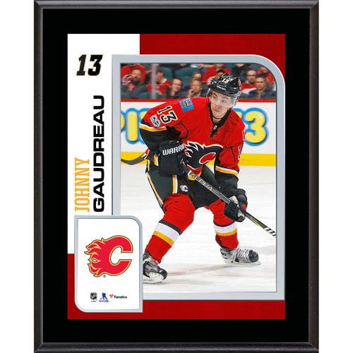 "Johnny Gaudreau Calgary Flames 10.5"" x 13"" Sublimated Player Plaque - No Size"
