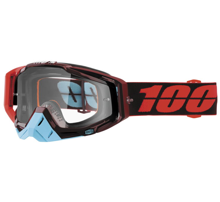 100% Racecraft Goggles Glitch w/Gold Lens   50110-152-02