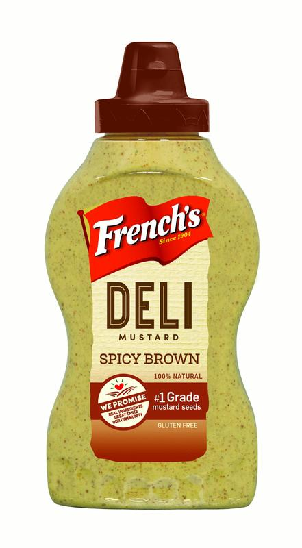 French's Deli Mustard, Spicy Brown, 12 Oz by Reckitt Benckiser