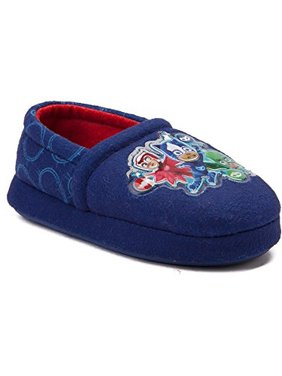 Polyester Blue Novelty Print Slippers Size Xl Useful Pj Masks Toddler Boys 11-12