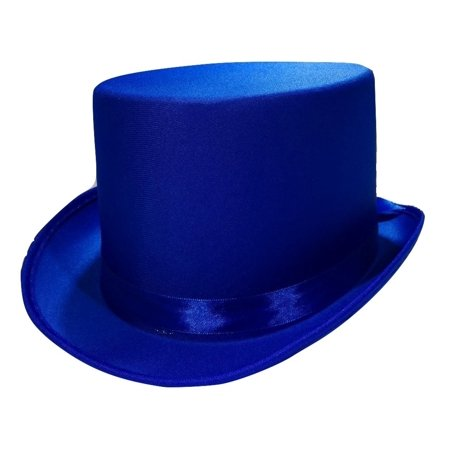 Tuxedo Silk Satin Top Hat Roaring 20s Adult Child Formal Costume Magician - Magician Hat
