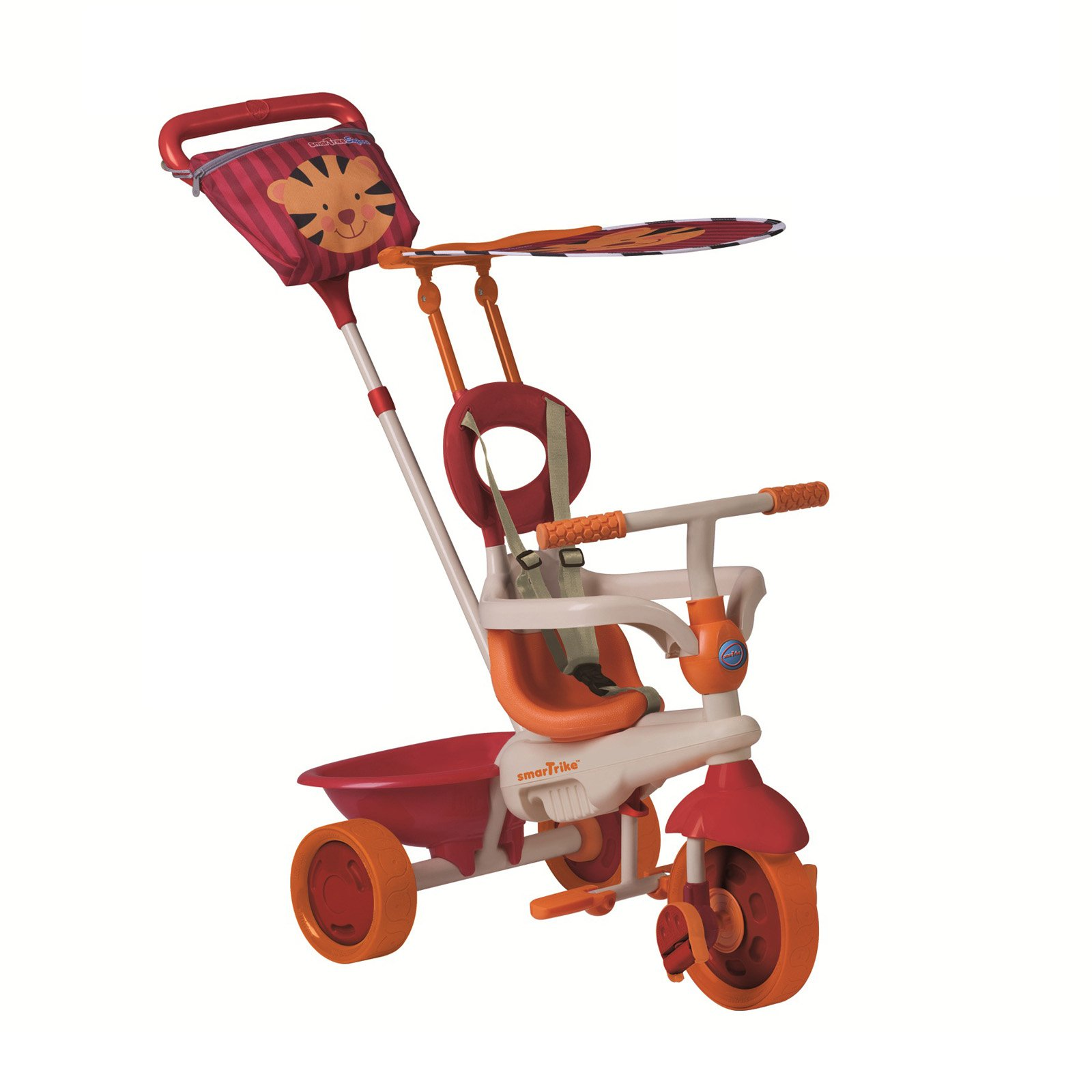 Smart Trike 4-in-1 Safari Tricycle - Red