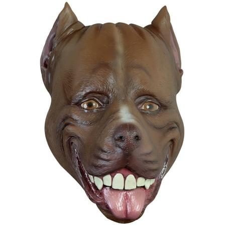 Adult Pitbull Dog Animal Mask