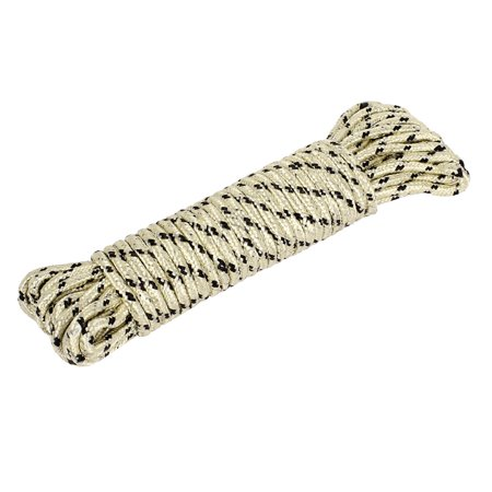 10m 33Ft Nylon Laundry Clothes Rope Line Hanging Clothesline Beige
