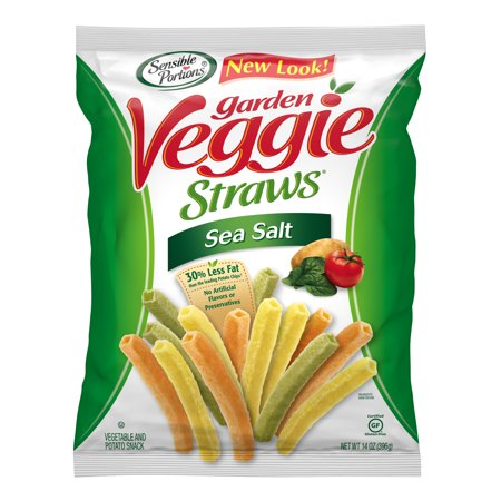 Sensible Portions Sea Salt Garden Veggie Straws, 14