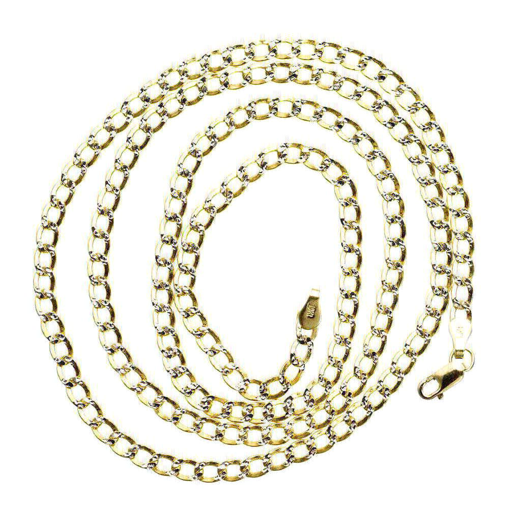 Mens Italy Cuban Link Chain 24.63 gram Solid 10K Yellow Gold 8.8 mm Necklace 24 inches by J&H Jewelers