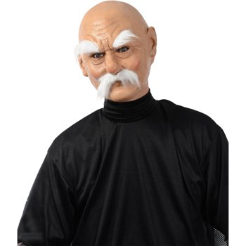 Grumpy Mask Adult Halloween Costume Accessory