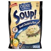 (4 Pack) Cugino's Greek Chicken & Rice Soup! Mix, 7 oz