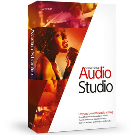 Magix Software ANR007266ESD Sound Forge Audio Studio 10 ESD (Digital Code)