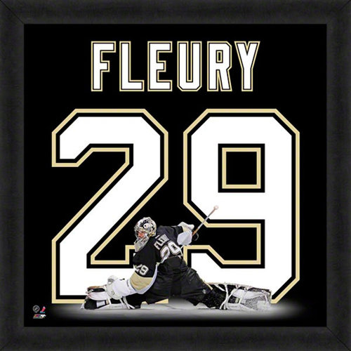 NHL - Marc-Andre Fleury Pittsburgh Penguins 20x20 Uniframe Photo