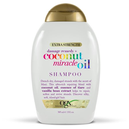 Essential Damage Care - OGX® Extra Strength Damage Remedy + Coconut Miracle Oil Shampoo, 13 FL OZ
