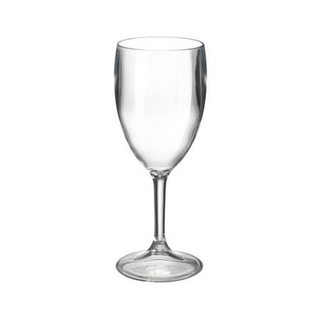 Free-Free Usa MG-J0 Wine Goblet, Clear Acrylic, 10-oz., Must Purchase In Quant. of 6 - Quantity (Clear Acrylic Trophy)