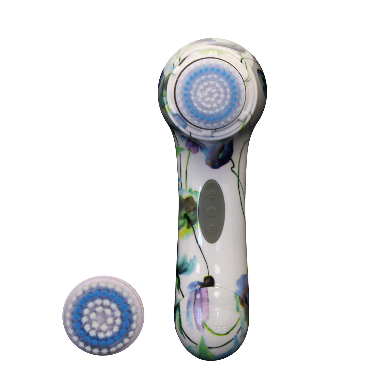 Vivitar Flower Pattern Electronic Facial Brush