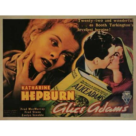 Alice Adams POSTER (11x14) (1935) (Alice Ruck Frame)
