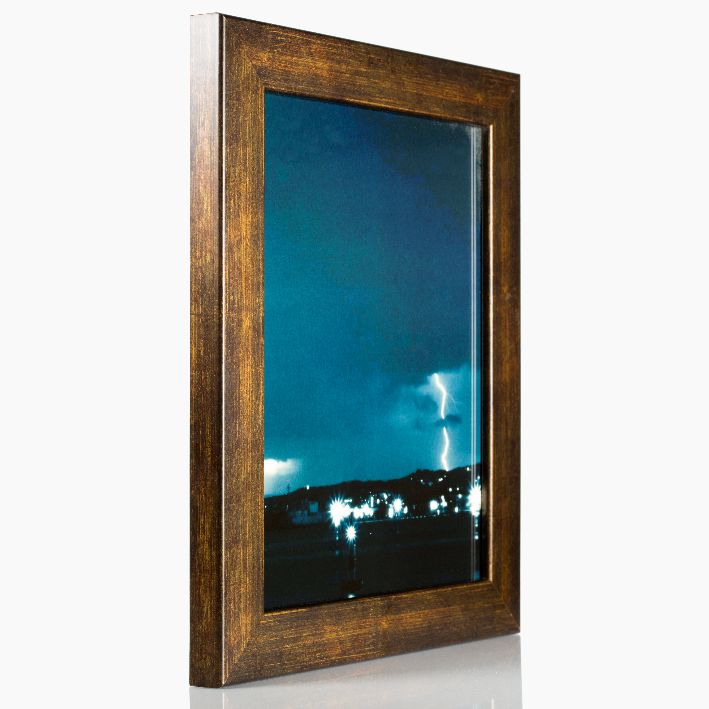 Craig Frames Bauhaus 125 Modern Aged Copper Picture Frame 11 X 17