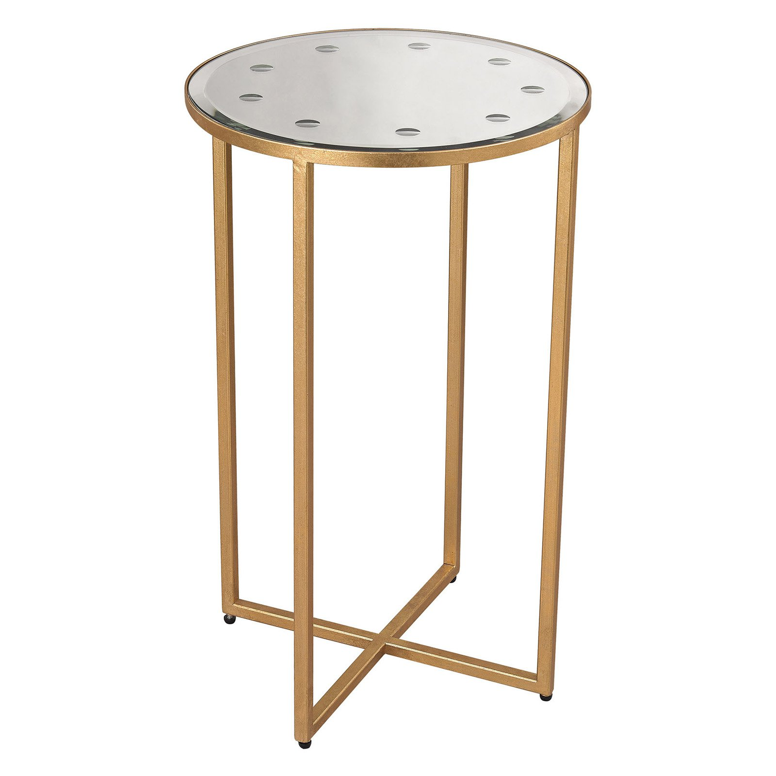 Dimond Home Cross Base Side Table by Dimond Home