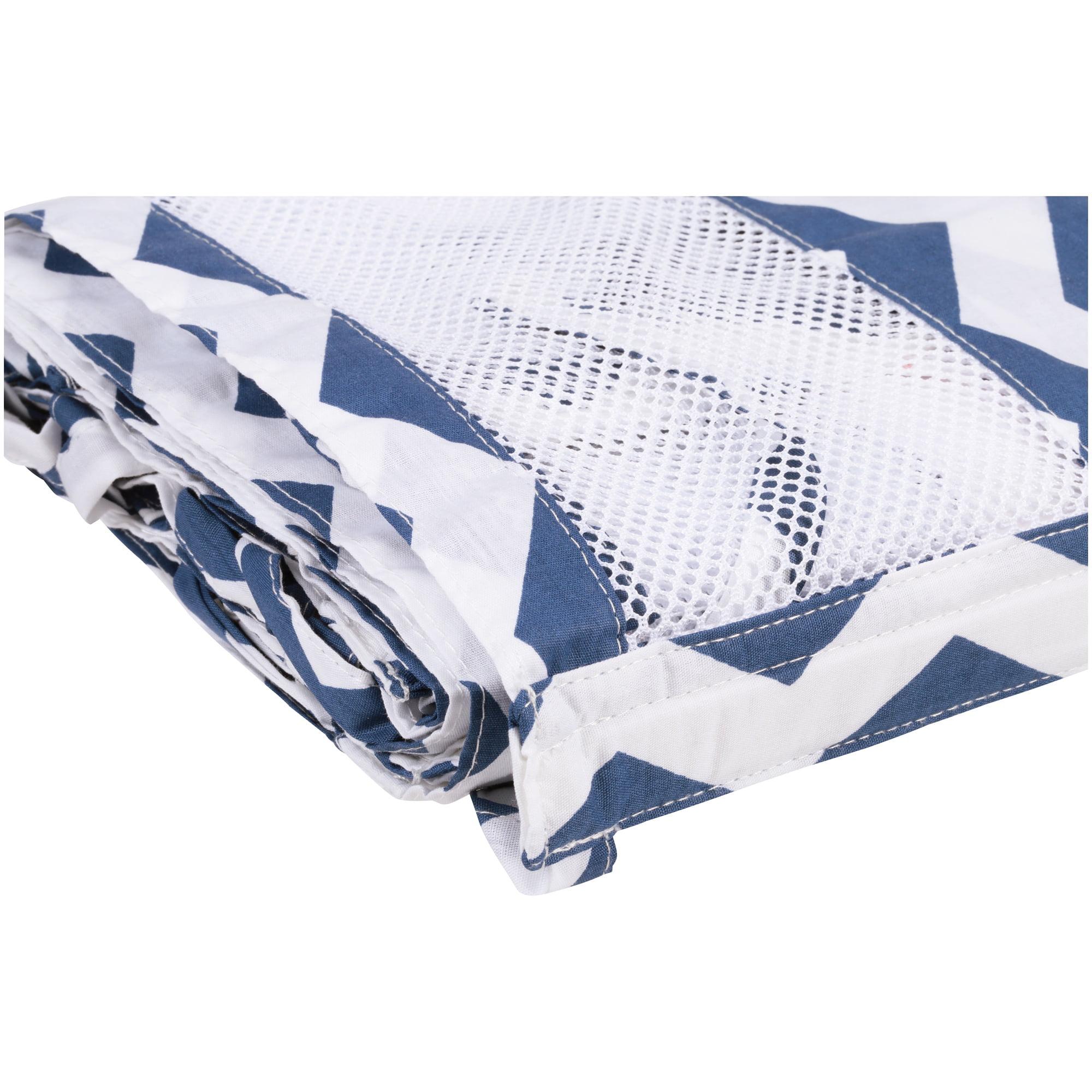 NoJo® Little Love Secure-Me® Crib Liner 4 pc Bag
