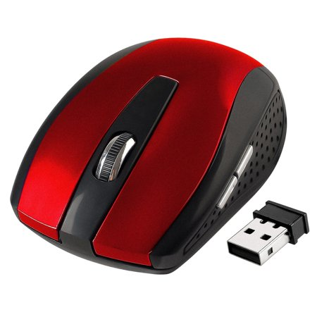 Insten 2.4GHz Wireless Mouse with Nano Receiver (800 1200 1600 (Best Wireless Mouse For Chromebook)