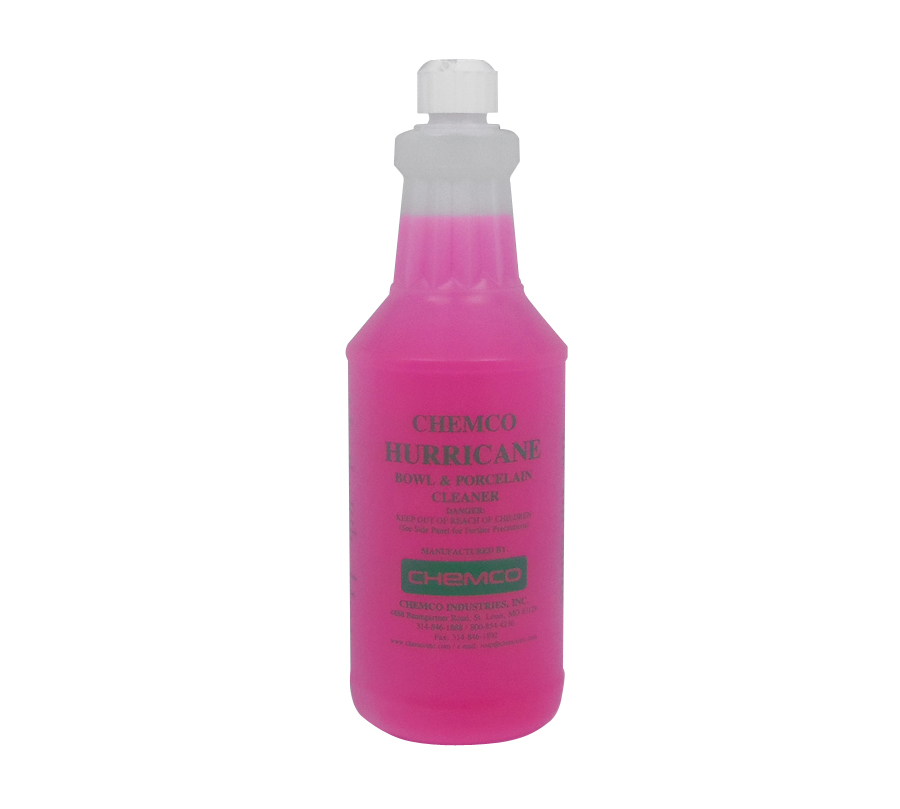 Perfect Bathroom Cleaner   Hurricane Cling By Chemco   Industrial Strength Bathroom  Cleaner   6 Quarts/