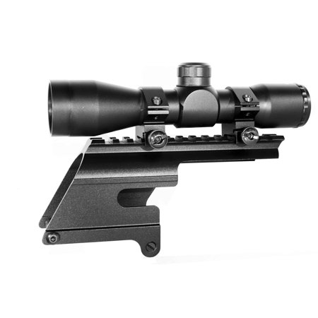 4x32 Hunting Scope With Mount For 12 Gauge Winchester