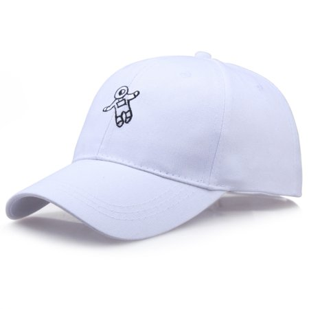 KABOER 2019 Fashion New Style Embroidered Astronaut Baseball Cap Visor