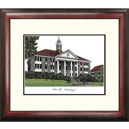 James Madison University Lithograph (James Madison University Alumnus Framed Lithograph)