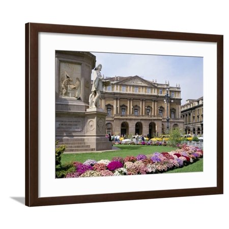 La Scala, Milan, Lombardy, Italy Framed Print Wall Art By Peter Scholey